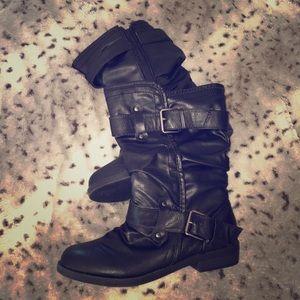 NWOT Biker style boots